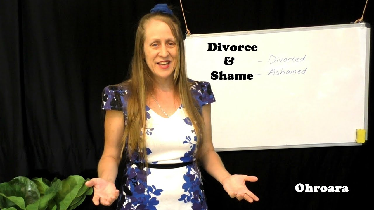 Divorce and Shame in the Church – Don't Talk to Him, He's Divorced