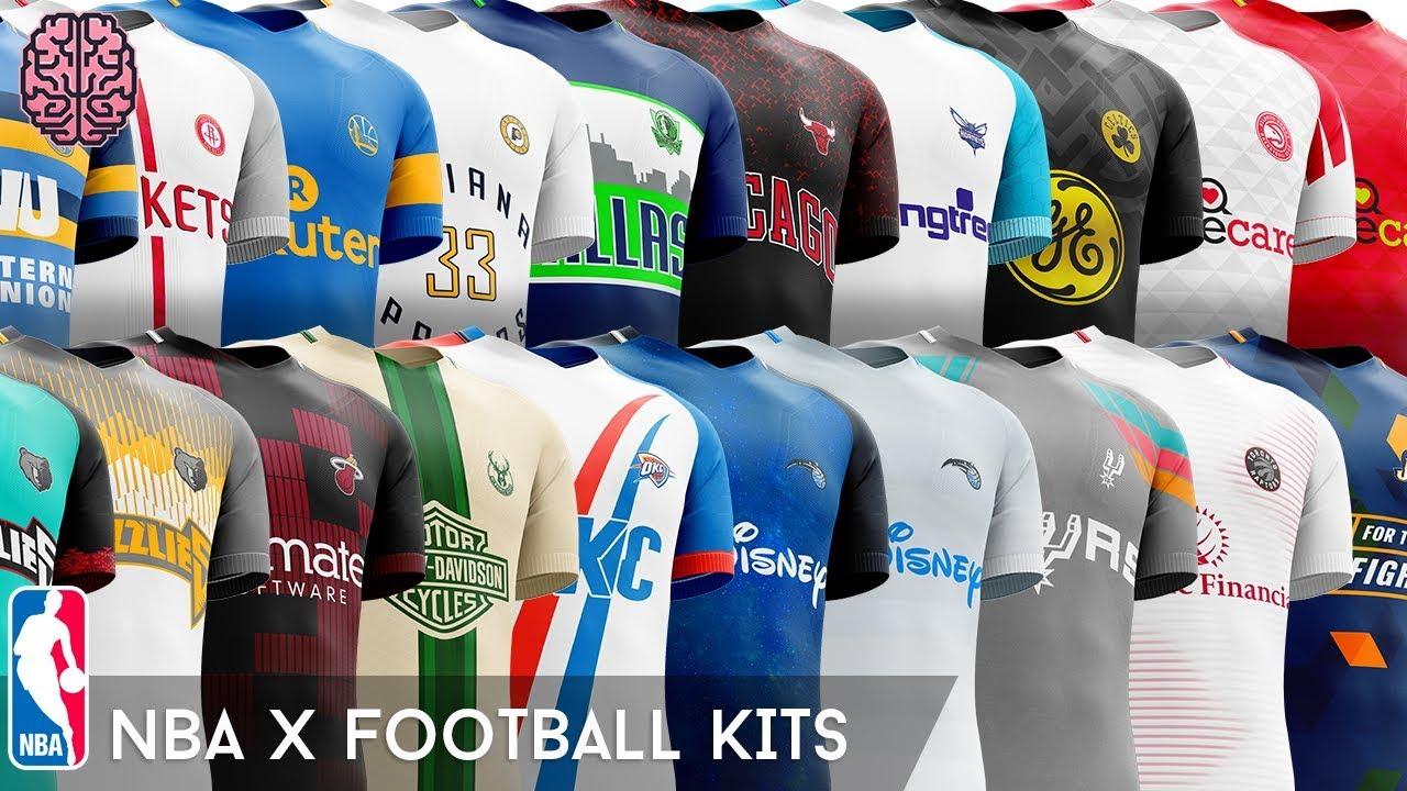 a68568883fa NBA x Football Kits on Behance