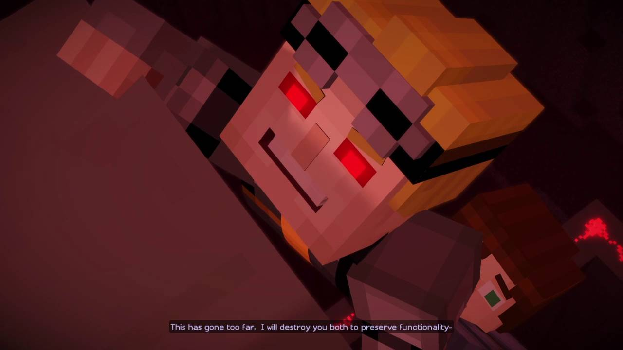 Minecraft Story Mode Episode 7 Jessie Vs Lukas Youtube