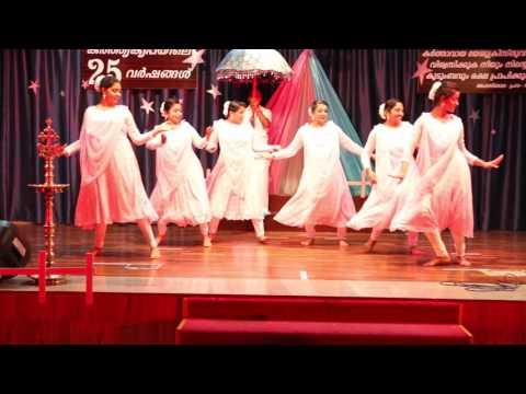 New Christian Prayer  Devotional Dance,  Halleluia, at St. Mary Church Al Ain 2017.