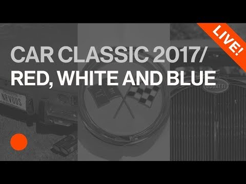 Car Classic 2017 - Celebrating Italian, American and French Automotive Design