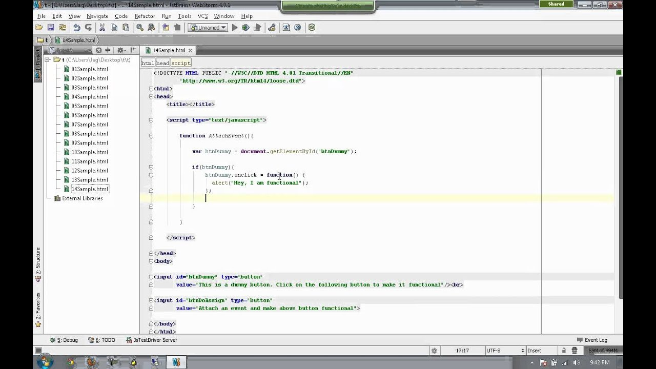 how to set session in javascript