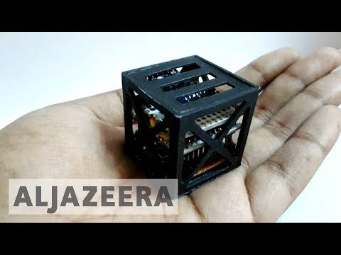 Indian students' 3D-printed satellite takes flight