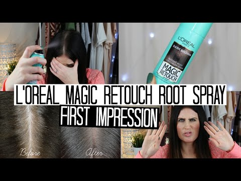 L'oreal Magic Retouch Root Spray | FIRST IMPRESSION