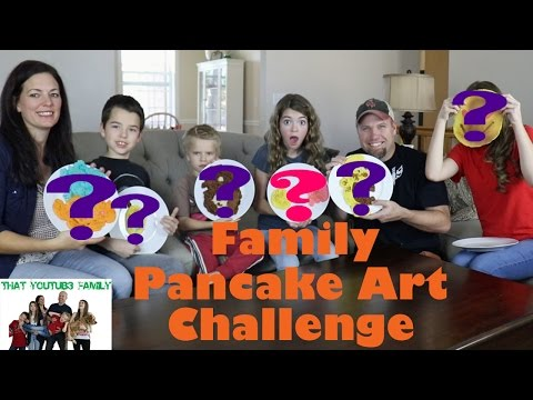 [Full-Download] Pancake Art Challenge We Are The Davises