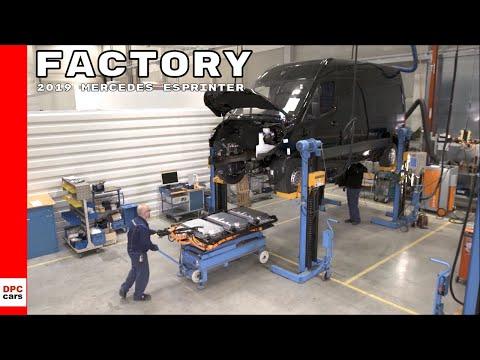 2019 Mercedes eSprinter Factory