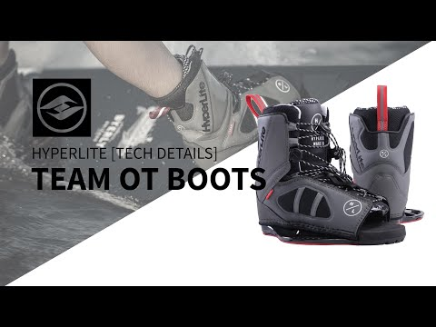 2019 Hyperlite Team OT Wakeboard Binding Tech