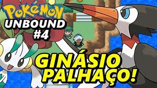 Pokémon Unbound (Detonado - Parte 4) - Batalha Difícil no Primeiro Ginásio