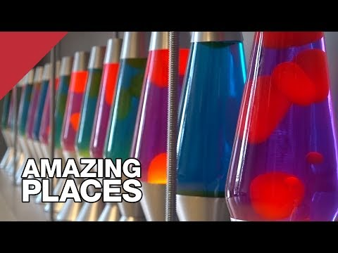 The Lava Lamps That Help Keep The Internet Secure