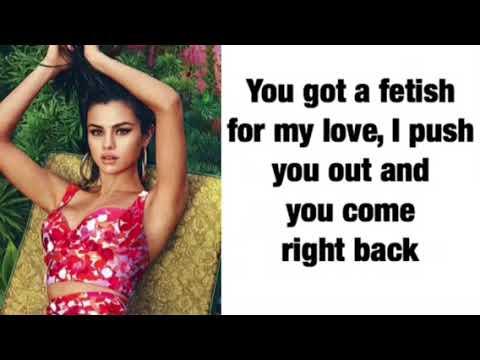 Fetish Selena Gomez Lyrics