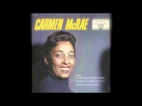 Carmen McRae - You Don't Know Me (Decca Records 1956)
