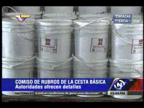 (VIDEO) Hallan en galpón de Catia 67 toneladas de materia prima para elaborar pan