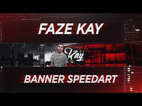 'FaZe Kay' - YouTube Banner Speedart (@FaZeKay)