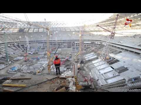 Видео, Реконструкция стадиона Лужники