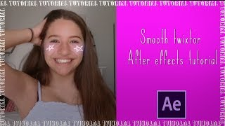 Smooth Slow Motion  Twixtor  Ll After Effects Tutorial