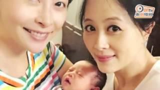 徐榮b女出世3日 瞇眼笑臉勁可愛