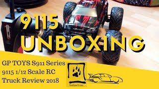 GP TOYS Foxx S911 9115 RC Truck  Car Unboxing and Test Drive 2018