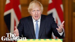 Lockdown Eased In The Uk 'safely', Says Boris Johnson