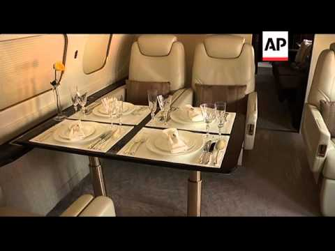Customised luxury jets at Shanghai air show