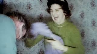 1960s Christmas and party games England 8mm Cine Film Home Movie