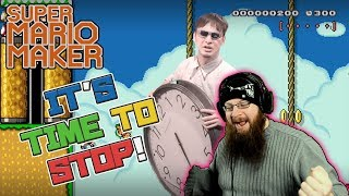 IT'S TIME TO STOP! - Super Mario Maker - Featuring TodayUke's Kaizo! ♥