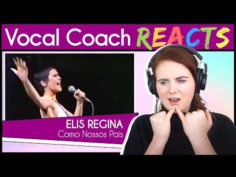 Vocal Coach reacts to Elis Regina - Como Nossos Pais (Live)