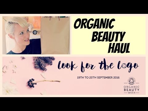 Organic Beauty Haul | ORGANIC BEAUTY WEEK | Kate Arnell