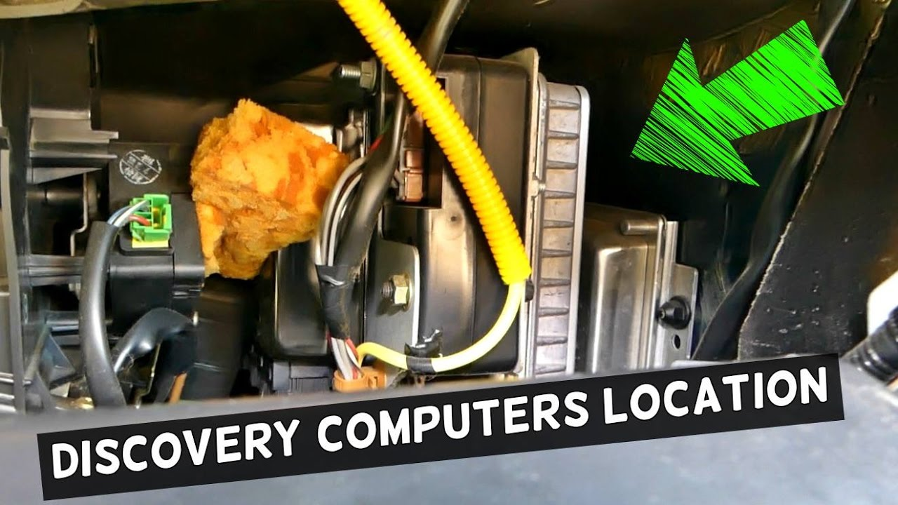 where are the computers ecu located on range rover discovery [ 1280 x 720 Pixel ]