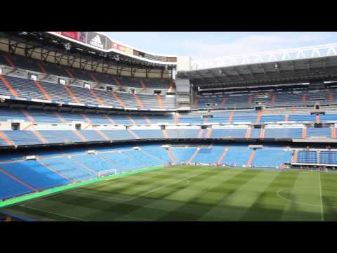 Estadio Santiago Bernabeu - Stadium of Real Madrid C.F. (HD)