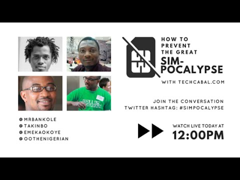 How to prevent the great Nigerian SIM-pocalypse