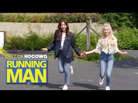 "In Ah & Chung Ha Prepared A Performance For ""Gotta Go"" [Running Man Ep 457]"