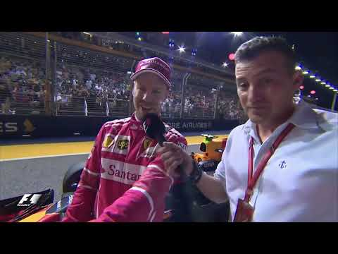Vettel accused Red Bull of copying their cars after qualifying - Singapore GP 2017