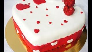 Hướng dẫn làm bánh kem tươi sinh nhật hình trái tim cực ý nghĩa