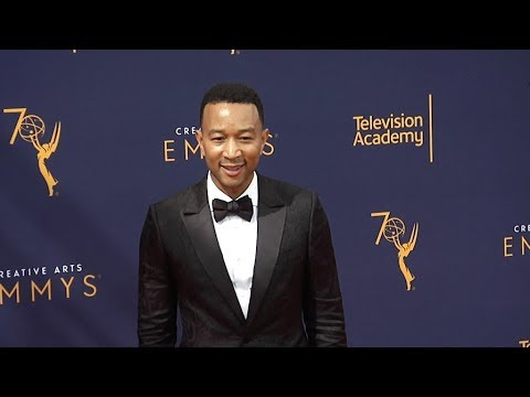John Legend At 2018 Creative Arts Emmy Awards
