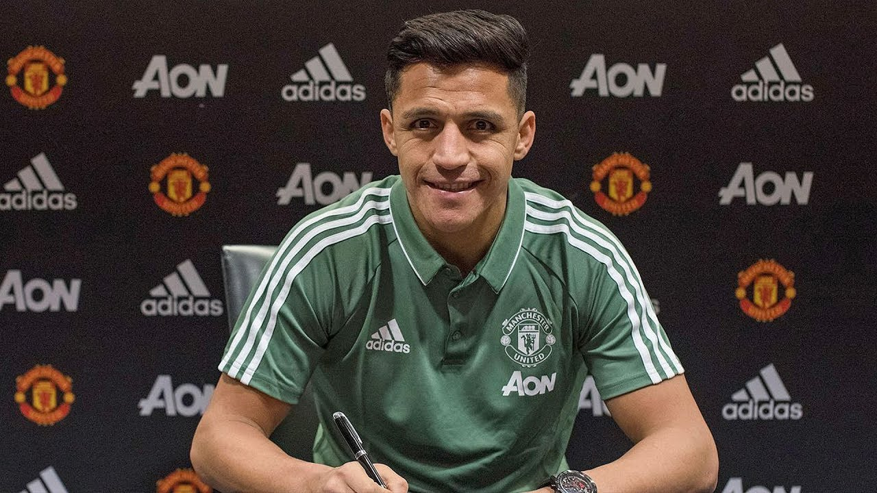 Sanchez Welcome To Manchester United! Official - Confirmed Winter Transfers 2018 ft. Aubameyang  HD