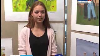 В детской художественной школе проходит выставка рисунков «Война глазами детей»