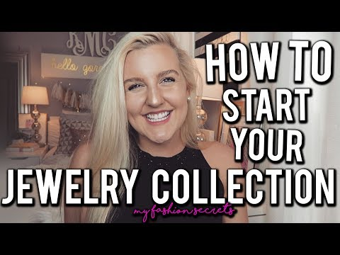 HOW TO START YOUR JEWELRY COLLECTION!! MY FASHION SECRETS (PREPPY BASICS 2017) || Kellyprepster