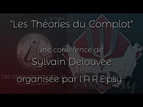 Les théories du complot - Conférence de Sylvain Delouvée - 27/09/16 - Rennes 2