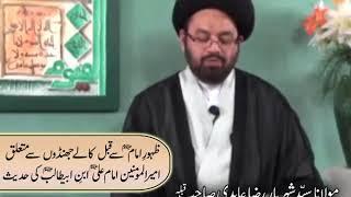 ظہورِ امامِ زمانہؑ سے قبل کالے جھنڈوں کی آمد کی تحقیق