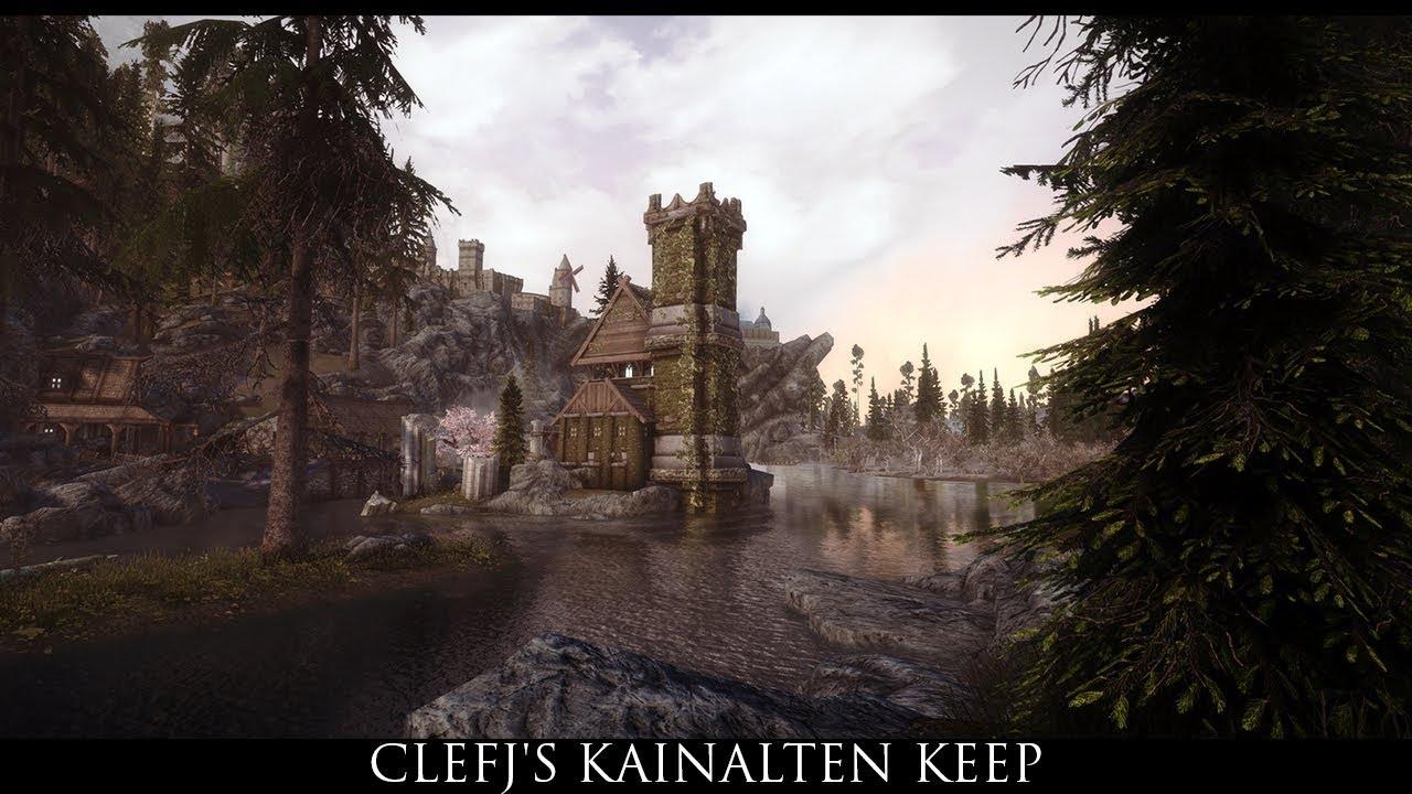 Skyrim SE Mods: ClefJ's Kainalten Keep by hodilton