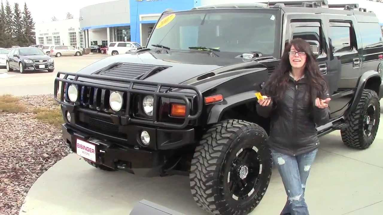 2004 hummer h2 black youtube vanachro Image collections