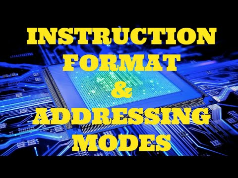 MICROPROCESSOR |  PART-3 | INSTRUCTION FORMAT | ADDRESSING MODES |  BSNL JE (TTA)| JTO