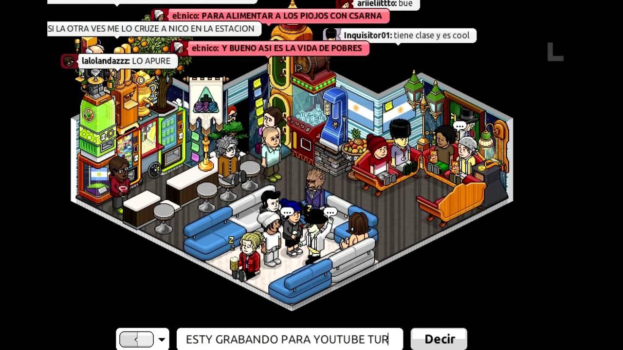 Habbo - Club Argentino II - YouTube