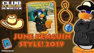 CP Réécrit - Penguin Style juin 2019 et le nouveau code Pin!