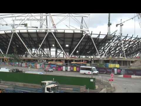 London 2012 Olympic Village - Construction Update (HD)