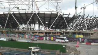 London 2012 Olympic Village - Construction Update (HD)