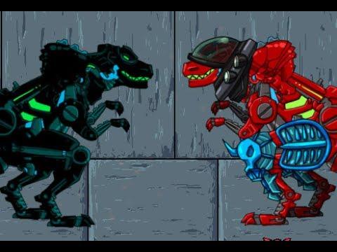 Dino Robot Adventure (Приключения роботов динозавров)