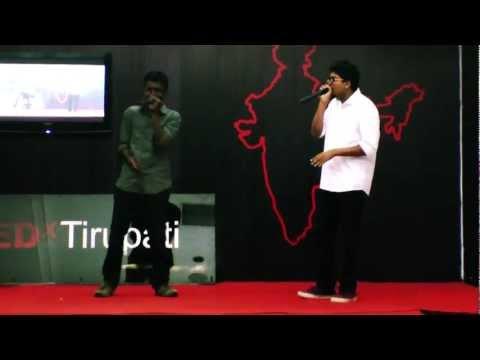 India's Biggest Beatboxer Vineeth Vincent feat Vineeth Kumar: Vineeth Vincent at TEDxTirupati.