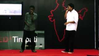 India's Biggest Beatboxer Vineeth Vincent feat Vineeth Kumar: Vineeth Vincent at TEDxTirupati.