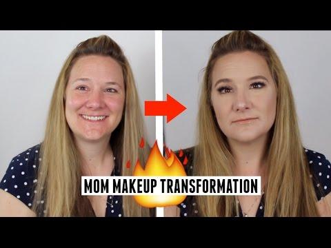 I DO MY MOMS MAKEUP | MAKEUP TRANSFORMATION!